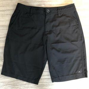 Men's Black O'Neill Surf Shorts, Size 32 Waist